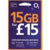 O2 £15 Bundle / 15GB Data / Unlimited Calls & Texts